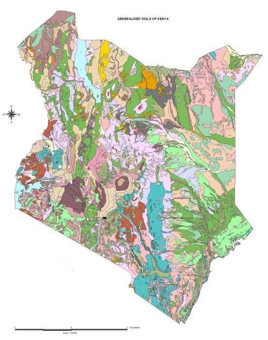 Kenyan Soils  Infonet Biovision Home