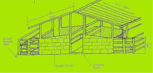 Pigs  new    animal welfare information    Infonet Biovision Home A modest piggery   be composed of adjacent pens in one row   a roof extending over them so that exposure of pigs to sunlight is minimised