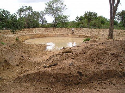 Charco dams